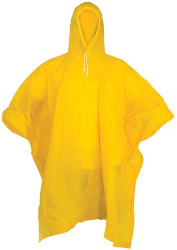 Pláštěnka  ''poncho'', žlutá  univerzální M - XL