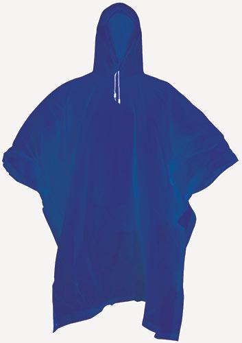 Pláštěnka  ''poncho'', modrá  univerzální M - XL