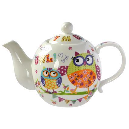 Konvice na čaj, SOVY, 800 ml, TORO