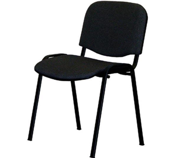 Konferenční stohovatelná židle VISI černá, Idea nábytek