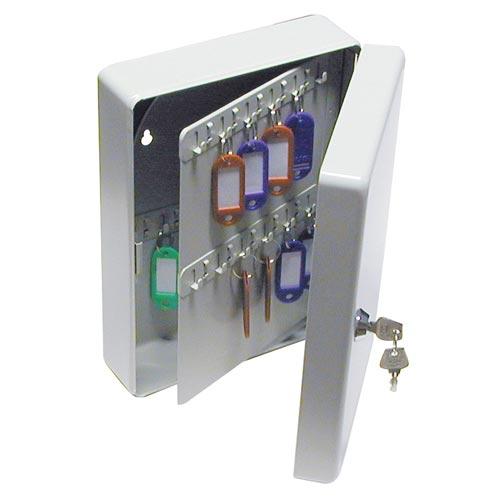 Skříňka na klíče 1771 klíčovka na 70 klíčů šedá, MAT