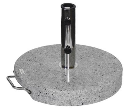 Žulový stojan na slunečník průměr 50 cm, 30 kg, Fortel
