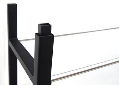 Plastový botník stohovatelný ROOK 67 x 19 x 33 cm
