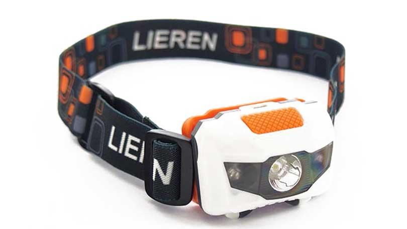 Pavexim 2209 LED čelovka na běhání a do přírody 3W + 1W červené