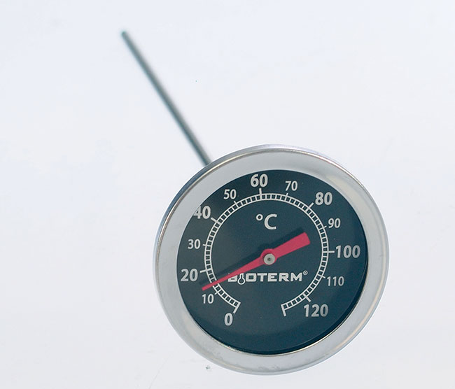 Teploměr do udírny 0 - 120°C
