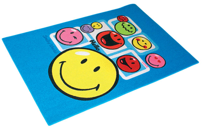 Dětský koberec Smajlík - Smiley 1 - 80 x 120 cm