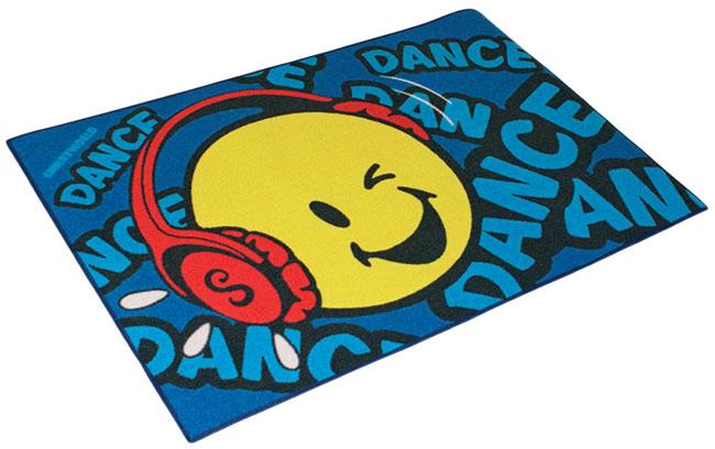 Dětský koberec Smajlík - Smiley 3 - 80 x 120 cm