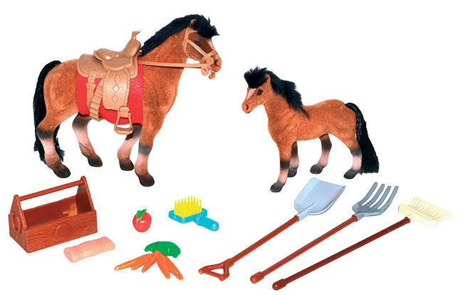 Koník set -- kůň velký + kůň malý