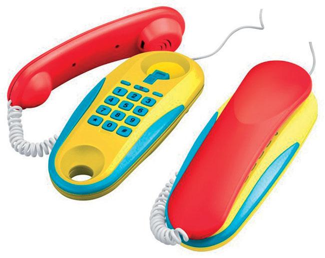 Telefony dětské drátové