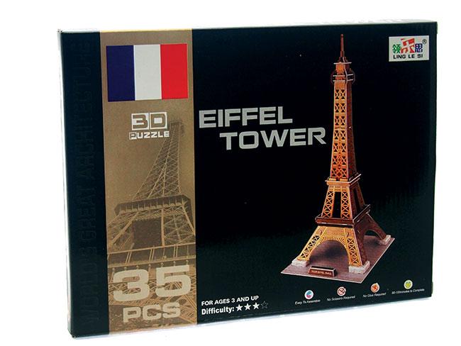 3D puzzle Eiffelovka 35 dílků
