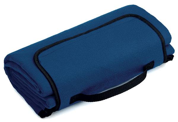 Pikniková cestovní deka PAT 140 x 130 cm, modrá