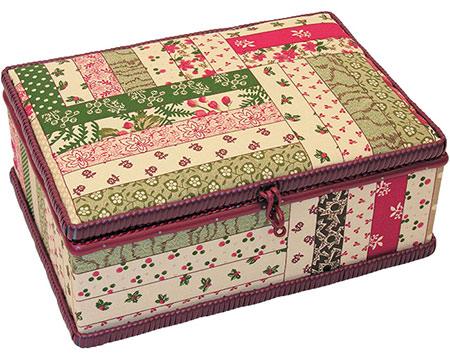 Kazeta na šití - patchwork