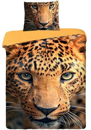 Dětské povlečení fototisk Leopard 2015 - bavlna 1 + 1