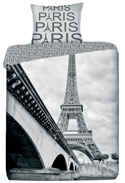 Povlečení fototisk Paris - bavlna 1 + 1