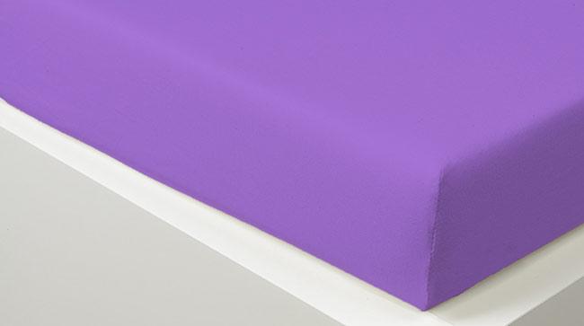 Prostěradlo JERSEY 90 x 200 cm - purple