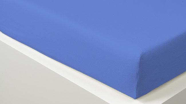 Prostěradlo JERSEY 180 x 200 cm -  sv. modrá