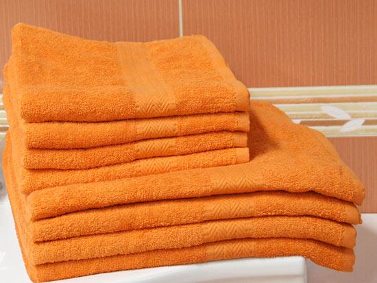 Osuška PAM 70 x 140 cm, oranžová