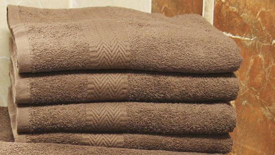 Osuška PAM 70 x 140 cm, hnědá