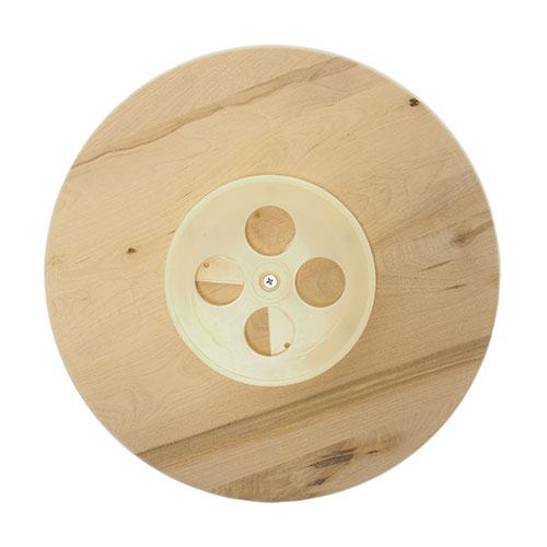 Dřevěný talíř servírovací, otočný 35 cm