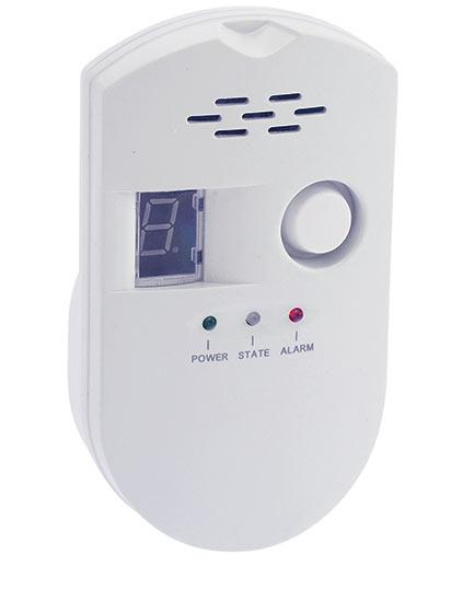 Detektor zemního plynu, LPG a svítiplynu s alarmem G1