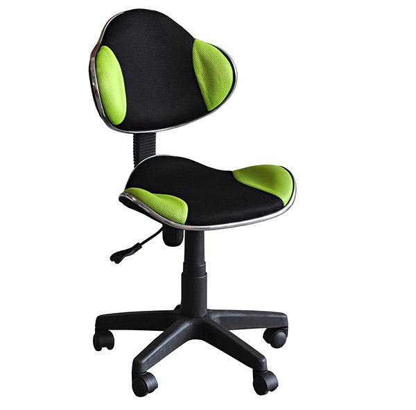 Dětská židle Nova - zelená / černá