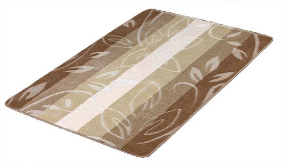 Koberec běhoun Béžové listy 80 x 150 cm