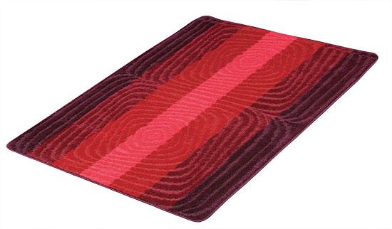 Koberec běhoun Červená spirála 80 x 120 cm