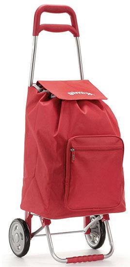 Nákupní taška na kolečkách Argo červená 45 l, Gimi