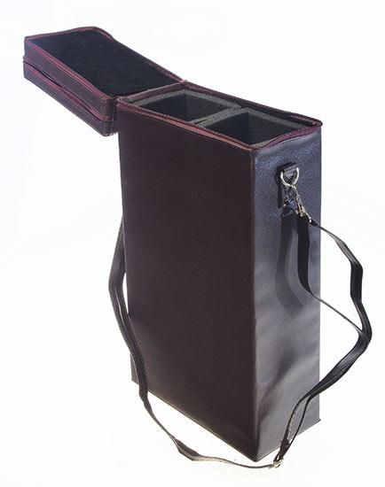 Cestovní chladící  taška na víno s vývrtkou Somelier