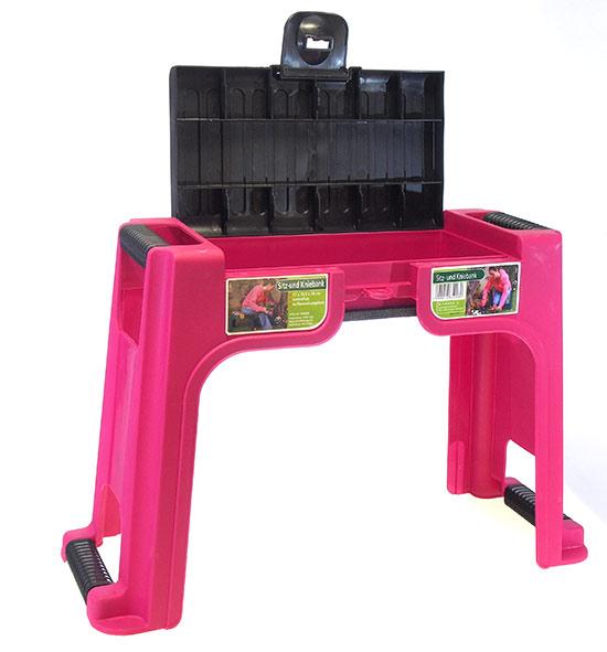 Sedátko / klekátko, růžové