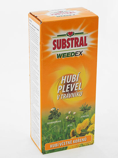 Substral Weedex koncentrát na plevel v trávníku 250 ml