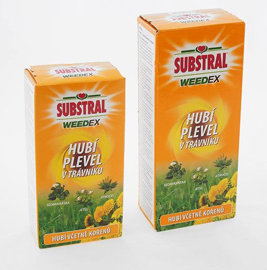 Substral Weedex koncentrát na plevel v trávníku 250 ml