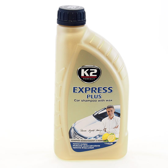 Autošampon s voskem Express Plus 1 l - Lemon
