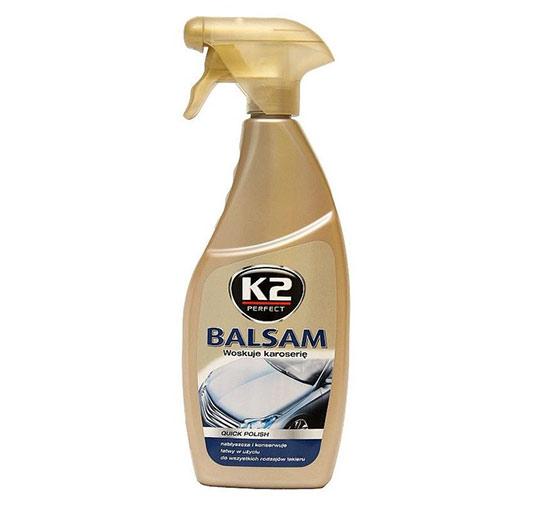 Rychlo leštící tekutý vosk na auto Balsam Atom 700 ml