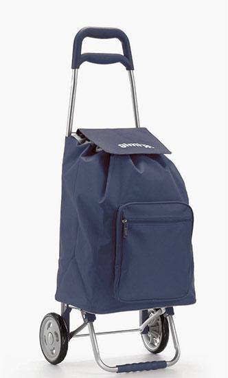 Nákupní taška na kolečkách Argo modrá 45 l, Gimi