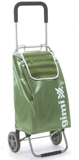 Nákupní taška na kolečkách Flexi zelená 45 l, Gimi