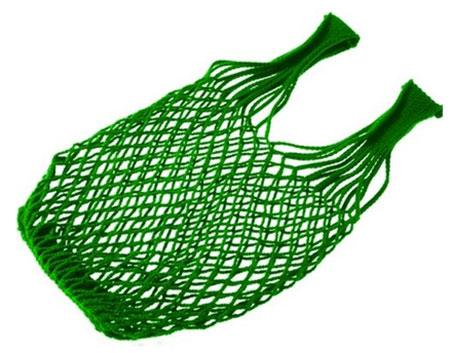 Síťovka - nákupní taška Spider 40 l - zelená