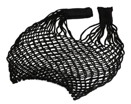 Síťovka - nákupní taška Spider 40 l - černá