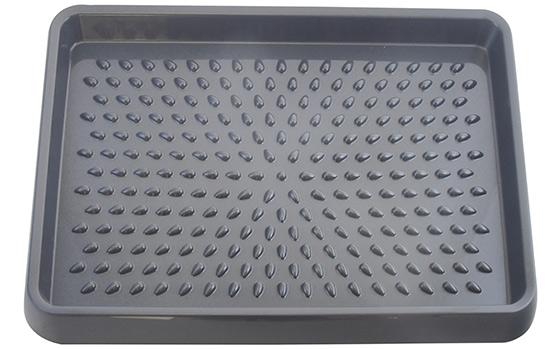 Odkapávač na boty Ado-8046 antracit, 54 x 38 x 3 cm