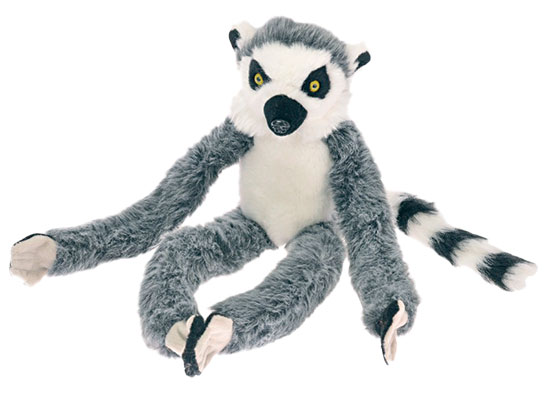 Lemur plyšový 40 cm 0m+