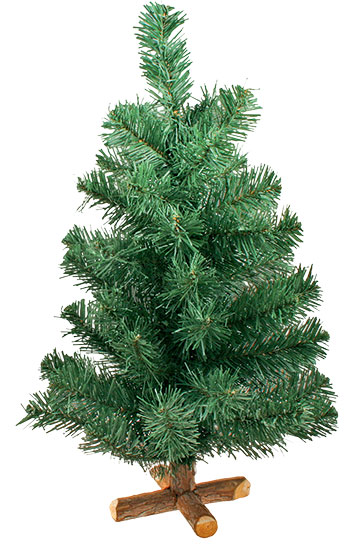 Umělý Vánoční stromek se stojanem 50 cm