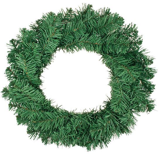Vánoční věnec z umělého jehličí 40 cm
