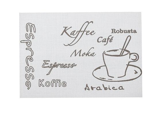 Omyvatelné prostírání na stůl  Espresso X0330, 43 x 30 cm