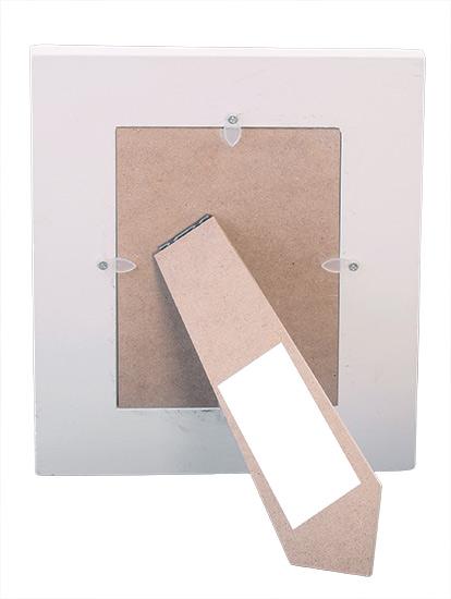 Dřevěný fotorámeček D0297, 10 x 15 cm na postavení