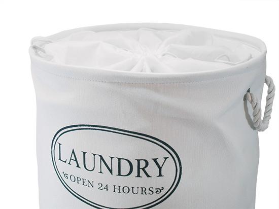 Koš na prádlo textilní Laundry 42 x 55 cm