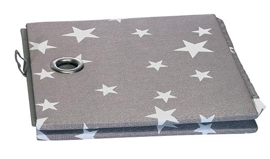 Zásuvka textilní skládací Hvězdy