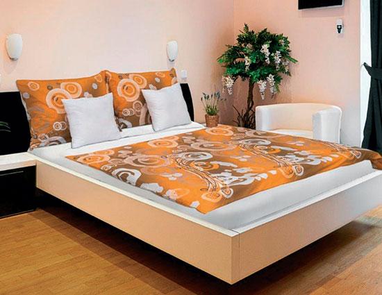 Bavlněné ložní povlečení Karoline 25, 140 x 200 cm, 70 x 90 cm