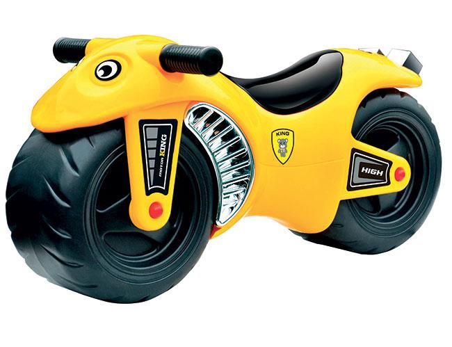 Motorka G21 Bike, žlutá