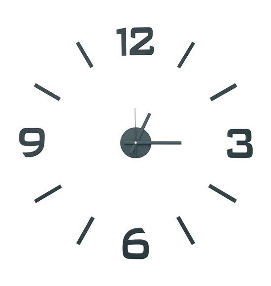 Samolepící hodiny G21 HM4-WSC-10E002 Classic Style