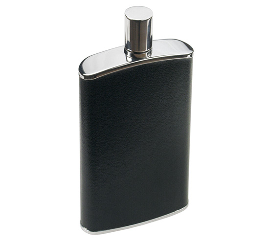 Nerezová placatka na alkohol Ado 0034 Geri, 120 ml